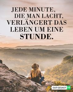 Jede Minute, die man lacht, verlängert das Leben um eine Stunde. Obi Wan, Instagram, Movies, Movie Posters, Positive Life, Frienship Quotes, Inspiring Sayings, Laughing, Proverbs Quotes
