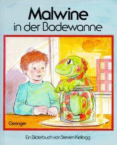 Malwine in der Badewanne: Amazon.de: Steven Kellogg: Bücher