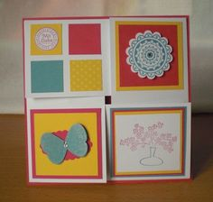 stampin up, cards
