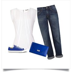 """Summer blue"" by lynsetta on Polyvore"