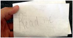 A Man Found A Mysterious Note In An Airport...What It Said Was Unexpectedly Inspirational