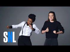 Bonus Footage: Star Wars Auditions (Daisy Ridley, Matthew McConaughey & John Boyega) - SNL - YouTube