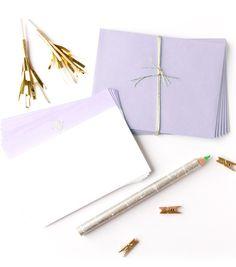 Monogram | Lavender Dip Dye