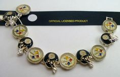 Pittsburgh Steelers Charm Bracelets