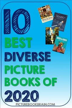 What are the best diverse picture books 2020? Inject some cultural diversity into your elementary classroom with these biographies and fiction books. Suggested lessons for teachers and activities for students. Your Kindergarten, first, second, third, fourth and fifth grade students will love these! The best diverse picture books of 2020!