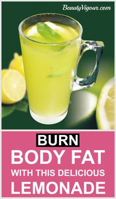 Burn Body Fat With This Delicious Lemonade