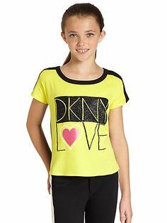 DKNY - Girl's DKNY Love Top - Saks.com