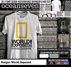 t shirt natgeo world exposed