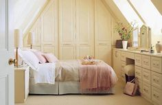 Country Living Room Furniture on New Country Style Bedroom Ideas Home Interior Design Kitchen And Attic Bedroom Designs, Attic Bedrooms, Attic Design, Interior Design, Bathroom Designs, Bedroom Ideas, Fitted Bedroom Furniture, Fitted Bedrooms, Attic Renovation