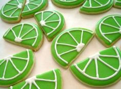 We've found the perfect dessert for your Cinco de Mayo fiesta: Lime Cookies! Bake up a batch and let the decorating begin.