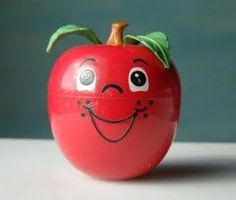 Fisher Price Apple-This was Russell's and now Kasey has it.