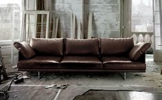 Toot sofa by Piero Lissoni and Cassina.