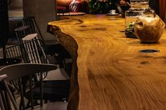 5 meters long oak monolith table. Conference Table is ideal solution for your office, restaurant, hotel and even at your home. It creates an opportunity for the whole team to gather in one place at the time. Its con-struction and size allows to gather spite of people in a comfortable way and to provide them enough free space to work. Free Space, Conference Table, Opportunity, Hardwood Floors, Restaurant, Design, Wood Floor Tiles, Twist Restaurant, Diner Restaurant