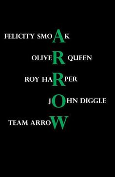The only team arrow that fucking counts