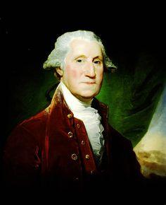 George Washington By Gilbert Stuart 1795-96