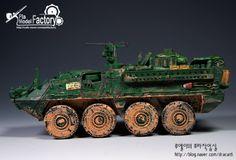아카데미 1/72 M1126  Stryker