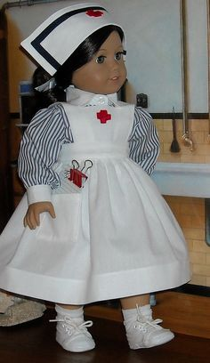 Nurse Ruthie by Sugarloaf Doll Clothes, via Flickr
