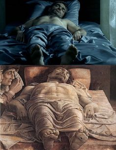 """The Return"" directed by Andrey Zvyagintsev). and ""The Lamentation Over The Dead Christ"" (Tempera on canvas, cm, by Andrea Mantegna. Famous Movie Scenes, Famous Movies, Marc Chagall, Gustav Klimt, Andrew Wyeth, Edward Hopper, Edgar Degas, Thomas Crown, Rembrandt"