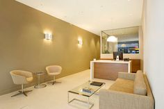 McGrath Real Estate's Northbridge reception area.