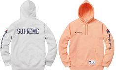 Supreme Champion Hooded Sweatshirt AshGrey 25,920yen 2016.10.22
