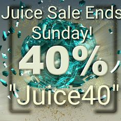 40% Juice Sale Ends Midnight Sunday  - 40% off all our E-Liquid Ends Midnight Sunday (gmt)https://knuckleheadvapes.com/collections/premium-handcrafted-ejuicePlus we have Bundled together Our Horny Flava juices into a 3 flavour money saving special Our Super Strudel into a 4 flavour deal and we have already reduced prices on lots of our top quality juice linesThis offer simply cannot last, so be sure to grab a bargain this weekend while stocks last Knuckleheadvapes.com Affordable Dependable…
