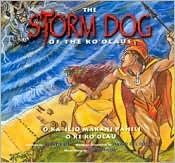 The Storm Dog of the Koolaus (Folktale):  Hi'iaka, a goddess of forests and sister to Pele, travels through Ka'a'awa and meets the handsome prince Kauhi. A howling wind rises from the ocean, and Kauhi knows that a storm dog (hurricane) is on its way. It is the fierce and terrible one called 'Iliouakaua.