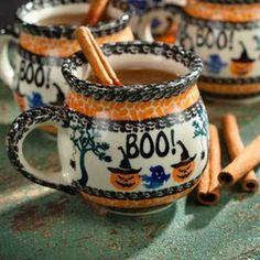 Halloween Polish Pottery Mug