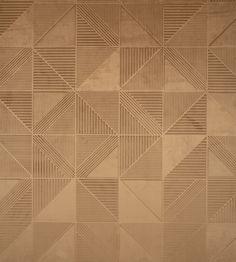Tetra Wallpaper by Arte Wall Cladding Designs, Wallpaper Designs For Walls, Arte Wallcovering, Skyline Design, Material Library, Wood Texture, Wall Treatments, Designer Wallpaper, Three Dimensional