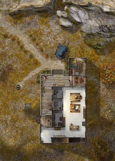 Habe's Sanatorium - First Floor by hero339 on DeviantArt