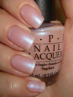 OPI Rosy Future-a possible color for the nails on my weddind day Opi Nail Polish, Opi Nails, Nail Polish Colors, Color Nails, Shellac, Perfect Nails, Gorgeous Nails, Pretty Nails, Pale Nails