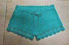 Shortinho de Crochê Para o Verão! | FTP - O Artesanato que Você Pode Fazer!