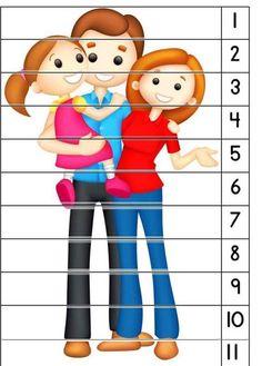 Preschool Learning Activities, Preschool Worksheets, Educational Activities, Preschool Activities, Kids Learning, Kindergarten Family Unit, Family Theme, Grande Section, Special Education Classroom