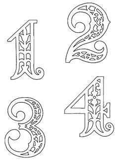 nombre 1à4