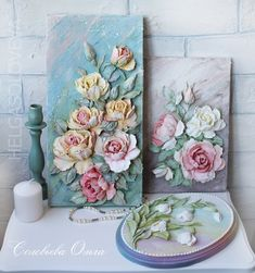1 million+ Stunning Free Images to Use Anywhere Sculpture Painting, 3d Painting, Ceramic Painting, Wall Sculptures, Clay Wall Art, Clay Art, Wallpaper Nature Flowers, Paris Crafts, Cold Porcelain Flowers