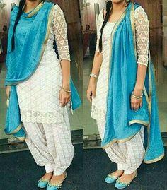Punjabi suit. Pinterest:@reetk516