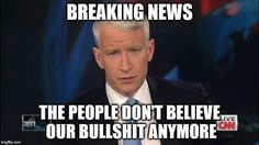 I used to love this Anderson Cooper until he showed his true colors during the presidential debate.