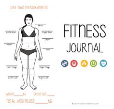 © Cornelia Kaufmann | Study.Read.Write DOWNLOAD THE FILE HERE (PDF): Fitness & Food Journal by StudyReadWrite  The planner includes the following: Day 1 Measurements Graphic & Target ...