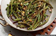Szechuan Green Beans, Guy Fieri Recipes for New Year's Eve (Tara Donne; Prop Stylist: Sarah Cave; Food Stylist: Maggie Ruggiero)