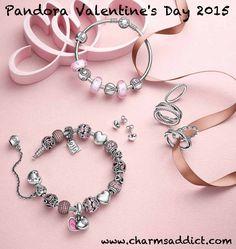 Charms Pandora Saint Valentin Valentine's Day 2015