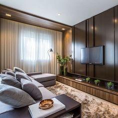 Que sonho de sala! Autoria de Claudia Albertini Arquitetura 💗 | @decoreinteriores