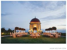 Riviera Tables and Sophia Chairs -  Outdoor, Family-Style Dining, Favorite Wedding Photos of the Year - Jasmine Star Blog