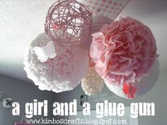 A girl and a glue gun..... Can't wait to browse this for hours! @Kim Sztrakati roskos this is your style of a blog!!!! ;)