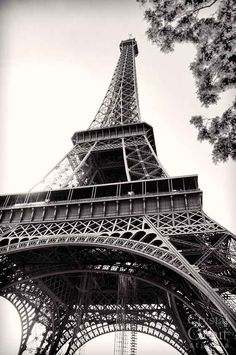 Art de toile de Paris Tour Eiffel Print par CrystalOrbitStudios