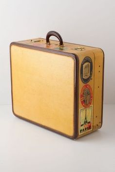 World Traveler Vintage Suitcase