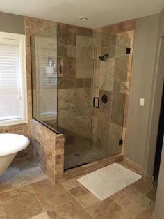 Byzantine Travertine Tiles Travertine Tile Backsplash, Travertine Bathroom, Travertine Floors, Bathroom Floor Tiles, Tile Floor, Upstairs Bathrooms, Master Bathroom, Bathroom Interior, Bathroom Ideas