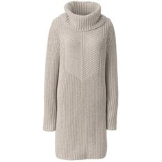 c6a7607e0c8dc Lands  End Women s Merino Blend Cowl Neck Sweater Dress - Shaker (5.680 RUB)