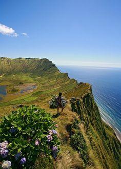 Кратер Лагуа-ду-Калдейру, Азорские острова,Португалия