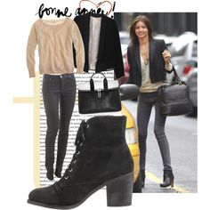 Ricochet Leathe Suede Leather Lace Up Ankle Booties by Chinese Laundry with Miranda Kerr & Phillip Lim 3.1 in New York City #chineselaundry #shoes #mirandakerr #nyc