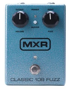Jim Dunlop M173 Mxr Silicon Fuzz by Jim Dunlop. $99.99. Face the fuzz! The MXR Classic 108 Fuzz pedal puts the classic fuzz tones of the Fuzz Face into a pedalboard-friendly, road-tough metal enclosure. The Classic 108 Fuzz pedal features the classic tones you know and love, and its brain-dead really simple controls make it incredibly simple to dial in. It's also loaded with modern features to make your life easier; you get a useful battery door for quick changes (or use an ...