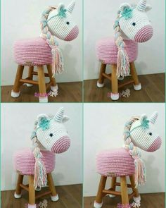 9 Tips for knitting – By Zazok Crochet Dolls Free Patterns, Crochet Beanie Pattern, Knitting Patterns, Crochet Unicorn, Crochet Baby, Knit Crochet, Stool Cover Crochet, Craft Stick Crafts, Diy And Crafts
